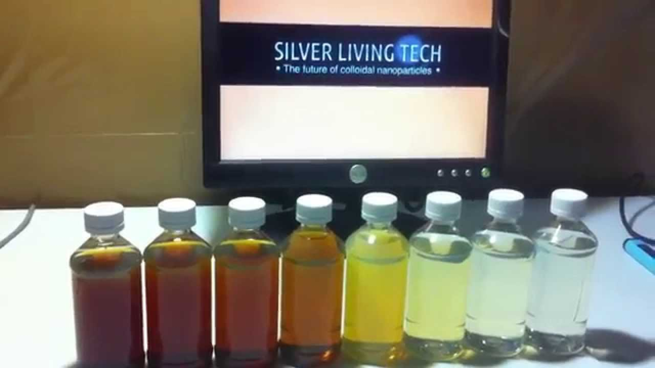 What Color Should Colloidal Silver Be